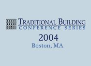Traditional Building 2004 Boston, MA
